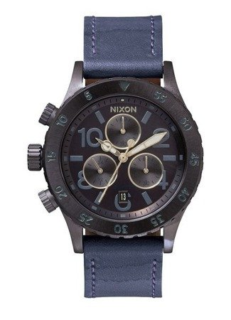 NIXON 38-20 CHRONO LEATHER