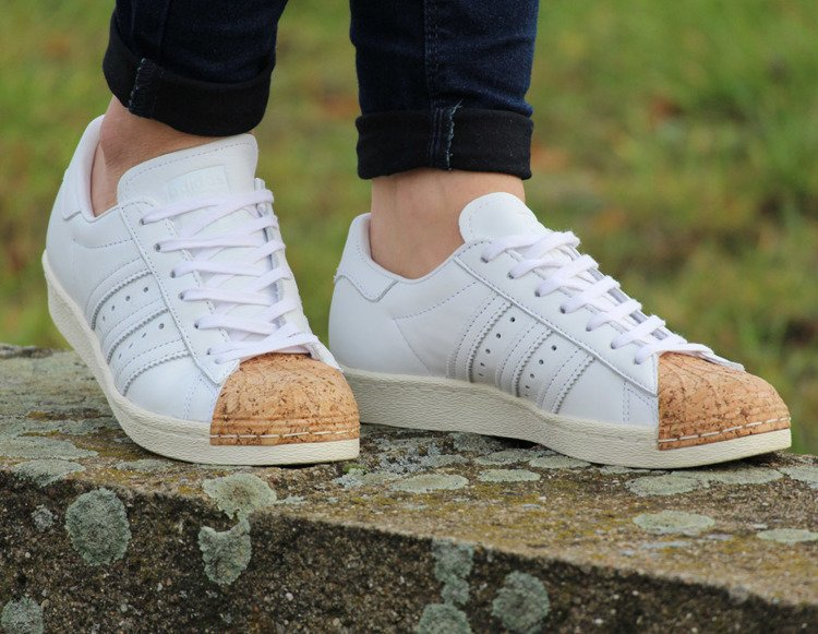 BUTY ADIDAS SUPERSTAR 80S CORK W (BA7605)
