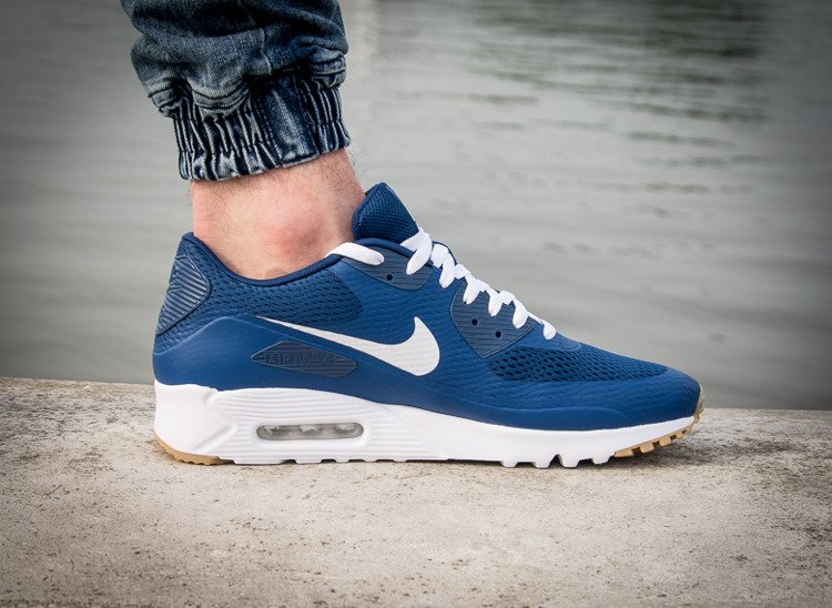 NIKE AIR MAX 90 ULTRA ESSENTIAL COASTAL BLUE Niebieski